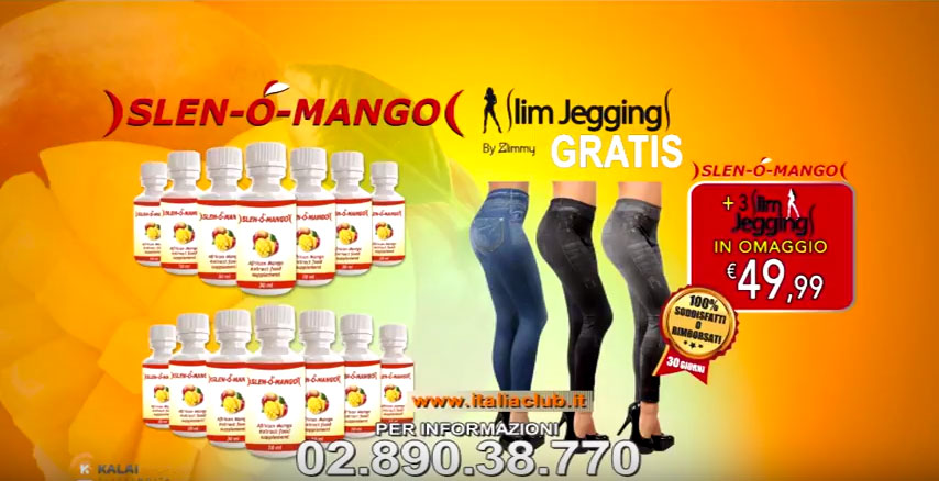 Active Shopping Slen o mango slim jeggings Slen o Mango:perdi peso in modo facile e rapido