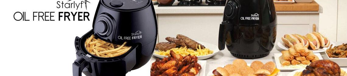 Oil Free Fryer friggitrice ad aria